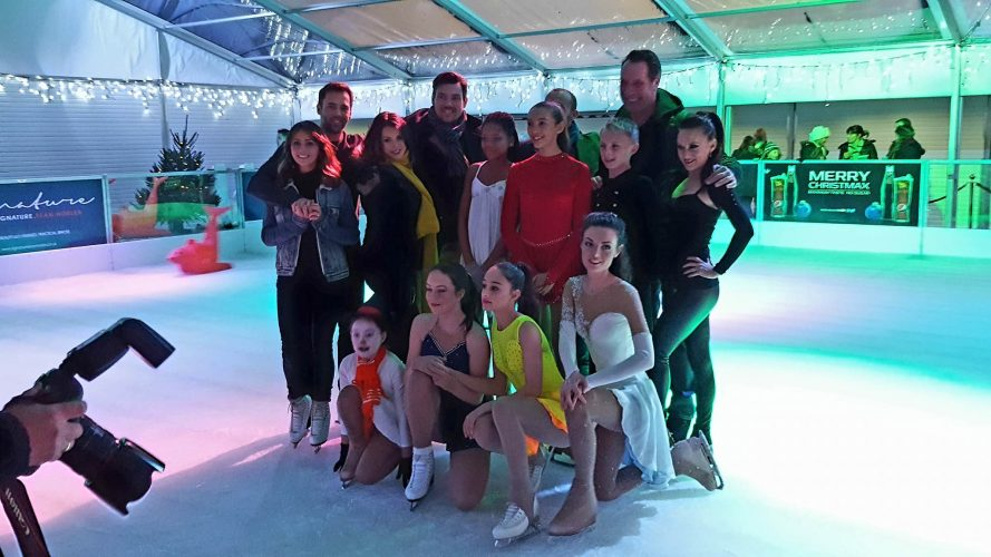 Cardiff Ice Skating Club Support for SPICE!